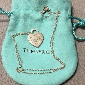 Tiffany & Co. Return to Tiffany Heart Necklace